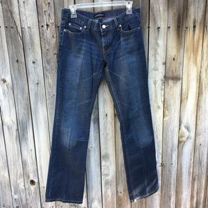 Club Monaco Dark Wash Slim Bootcut Jeans 4
